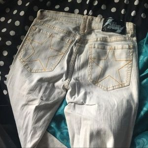 💲✂️  Abbey Dawn | White Skinny Jeans